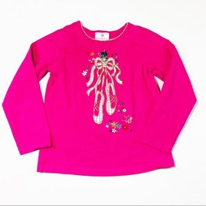 Hanna Andersson Ballet Cat Long Sleeve Shirt | 5